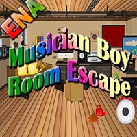 Musician Boy Room Escape ENAGames