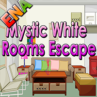 Mystic White Rooms Escape ENAGames