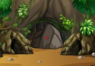Mystical Stone Cave Escape EscapeFan