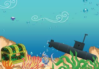 Mystical Submarine Treasure Adventure EscapeFan