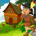 Native American Girl Rescue Games4King