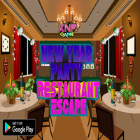 New Year Party Restaurant Escape KNFGames