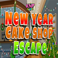 New Year Cake Shop Escape KNFGames