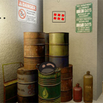 Oil Depository Room Escape GenieFunGames
