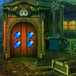Old Forest Bungalow Escape Games4King