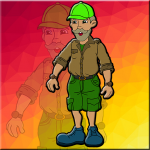 Old Forest Officer Escape Games2Jolly