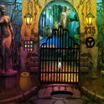 Old Scary Palace Escape Games4King
