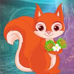 Orange Squirrel Rescue Games4King