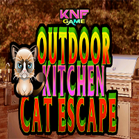 Outdoor Kitchen Cat Escape KNFGames