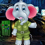 Overjoyed Elephant Escape Games4King