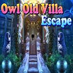 Owl Old Villa Escape Games4King