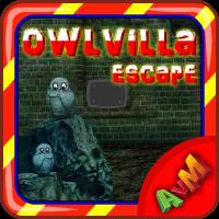 Owl Villa Escape AvmGames