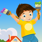 Painter Boy Rescue Games4King