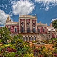 Palace Of Estoi Puzzle OceanDesJeux
