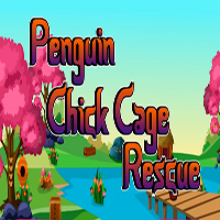 Penguin Chick Cage Rescue TheEscapeGames