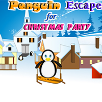 Penguin Escape For Christmas Party PinkyGirlGames