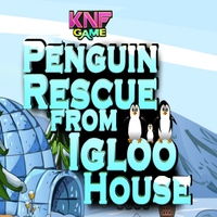 Penguin Rescue From Igloo House KNFGames