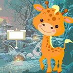 Petite Giraffe Rescue Games4King