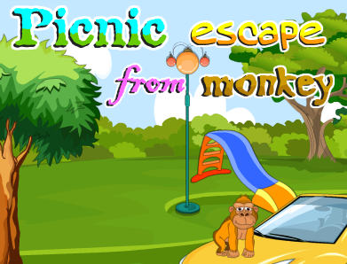 Picnic Escape From Monkey PinkyGirlGames