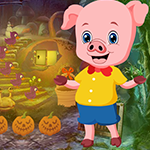 Piglet Rescue Games4King