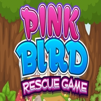 Pink Bird Rescue Game MeenaGames