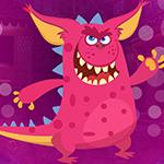 Pink Creature Escape Games4King