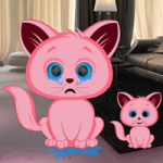Pink Kitty House Escape Games2Rule