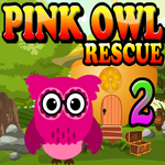 Pink Owl Rescue 2 Games4King