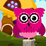 Pink Owl Rescue 3 Games4King