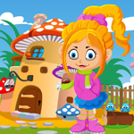 Pinky Girl Rescue Games4King