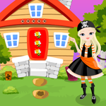 Pirate Girl Rescue Games4King
