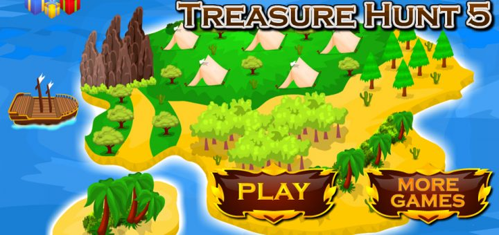 Pirates Island Treasure Hunt 5 OleGames