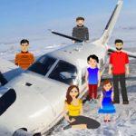 Plane Crash In Snow Escape WowEscape