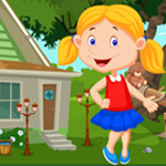 Play School Girl Rescue Games4King