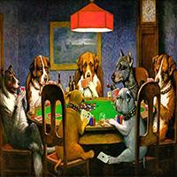 Poker Dogs Swap Puzzle OceanDesJeux