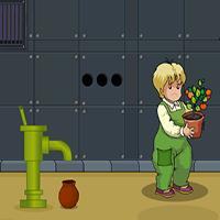 Pretty Boy Saving The Plant Games2Jolly