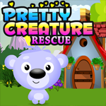 Pretty Creature Rescue Games4King