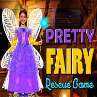 Pretty Fairy Rescue Game MeenaGames