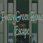 Pretty Green Home Escape GamesClicker