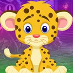 Pretty Leopard Escape Games4King