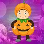 Pretty Pumpkin Boy Escape Games4King