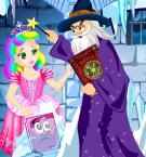 Princess Juliet Frozen Castle Escape Girl Stand