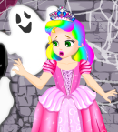 Princess Juliet Ghost Castle GirlStand