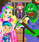 Princess Juliet Gold Mine Escape GirlStand