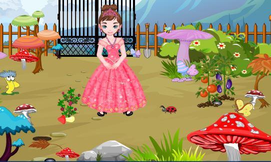 Princess Pinky Escape From Garden PinkyGirlGames