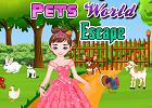 Princess Pinky Pets World Escape PinkyGirlGames