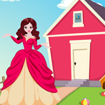 Princess Rescue From Garden House Games4King