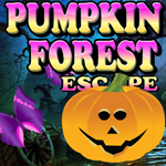 Pumpkin Forest Escape Games4King