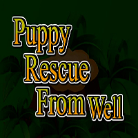 Puppy Rescue From Well TheEscapeGames