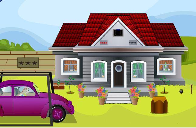Purple Car Escape Games2Jolly